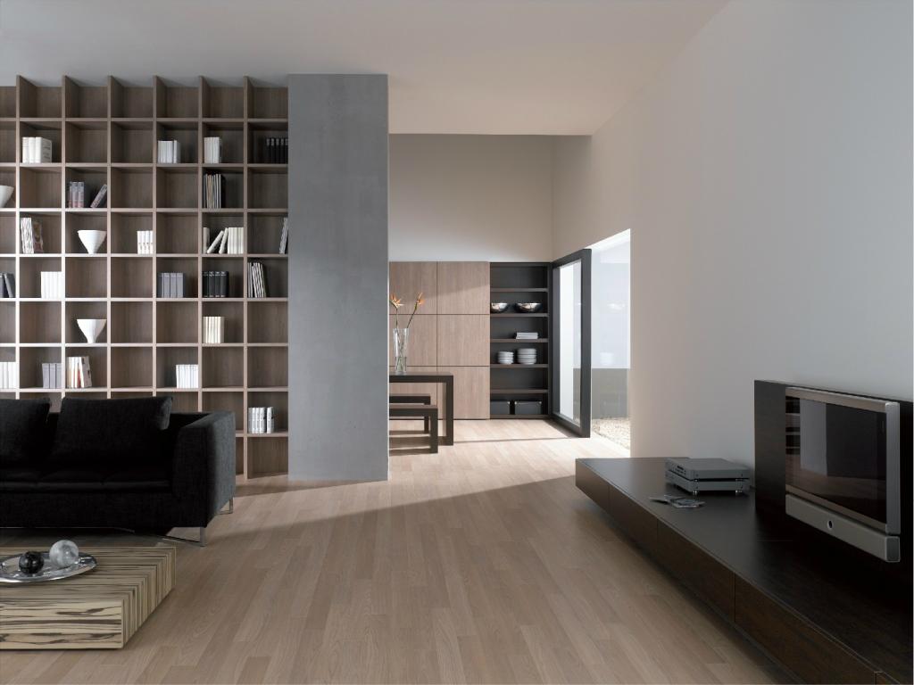 wohnraum tv esszimmer bibliotheken fresa. Black Bedroom Furniture Sets. Home Design Ideas