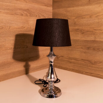 Tischlampe Chrom